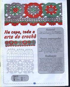 pontilhas de croche - Elisiane Severo - Веб-альбомы Picasa
