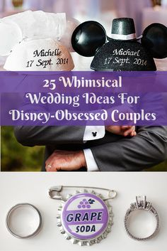Whether you're a fan of the classic movies or Disney Parks, there are countless ways to show your love for all things Disney at your wedding