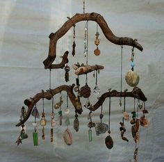 Awesome windchime. Very Boho.