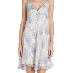 Joie Caspara Floral Sundress Beautifully sweet floral sundress in the prettiest mix of pastel colors. Softy and floaty and perfect for spring with a cardigan. This has only been worn twice and is in practically new condition with no imperfections. Joie Dresses