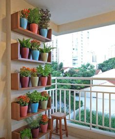 Left overs wood? What about shelves to hold your plant?