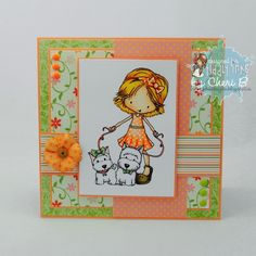 Tiddly inks Annabelle and Puppy Love by Cherib Designs
