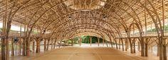 Bamboo Sports Hall, Panyaden International School, Thailand, by Chiangmai Life Architects