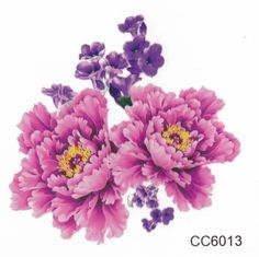 Product Information - Product Type: Set of 3 Small Pink Floral Temporary Tattoo Tattoo Sheet Size: 6cm(L)*6cm(W) Tattoo Application & Removal With proper care and attention, you can extend the life of