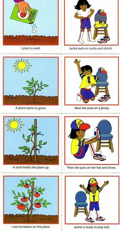 Plantar e vestir Sequencing Worksheets, Sequencing Cards, Story Sequencing, Sequencing Events, Autism Activities, Preschool Education, Speech Therapy Activities, Language Activities, Early Learning