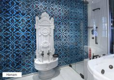 Bespoke re-modelled Kurna in Afyon White Marble info@nature-fusion.com