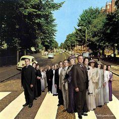 Downton Abbey Road
