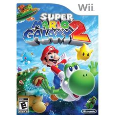 Super Mario Galaxy 2 (Nintendo Wii, 2010)  #mario #gamers #nintendo