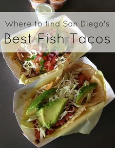 It's the must-eat dish when in San Diego so here's where to find the best fish tacos from fancy to casual. Oscar's Mexican Seafood is considered the best.