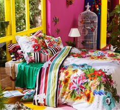 LIA Leuk Interieur Advies/Lovely Interior Advice: Color in your Bedroom