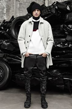 Alexander Wang Fall 2014 Menswear Collection on Style.com: Runway Review
