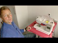 W6 Wertarbeit: W6 N 6000 Computergesteuerte Näh- & Stickmaschine - YouTube