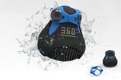 乍看像隻三眼蛙的 360cam,除了可以拍攝360度的全景照外,還擁有IP-8等級的防水能力,更擁有Wi-fi無線傳輸功能,隨著電子技術與光學技術的日益強大,現在新一代的影音紀錄器材也越來越有趣且強大了!  內容來自: 360cam,首隻內建wifi可紀錄Full HD畫素的全景拍攝三眼青蛙,募資中 ...-攝影器材消息-Photo Online-攝影線上 - http://photoonline.com.tw/article-1247-1.html#pin - Photo Online - 攝影線上 -