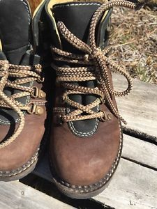 Spieth & Wensky Boys Size 29 Lace Up Brown Black Leather Ankle Boots Germany   | eBay