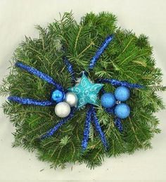 Doar pe www.123flori.ro Hanukkah, Wreaths, Home Decor, Corona, Decoration Home, Door Wreaths, Room Decor, Deco Mesh Wreaths, Home Interior Design
