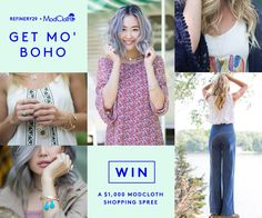 Win a $1,000 shopping spree to ModCloth! Enter now: http://r29.co/1LsEtbE