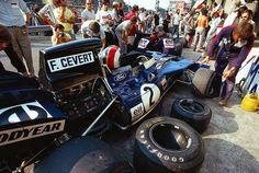 François Cevert (Tyrrell-Ford) Grand Prix d'Italie - Monza 1971 - source F1 History & Legends.