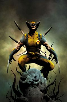 Hey Wolvie...ya got some swords sticking out of you. Just thought you should know. Alright uh...take care now.