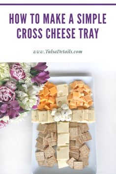 Cross Cheese Tray - First Communion Food - Baptism Food - Cheese Tray Christening Food, Baptism Food, Baby Boy Baptism, Baby Baby, Boys First Communion, First Communion Cakes, First Communion Decorations, Baptism Party Decorations, Baby's First Birthday Gifts