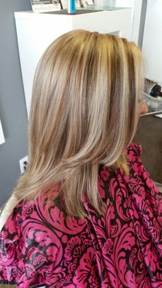 Beautiful layers with highlights and lowlights