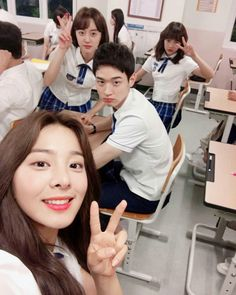 [School 2017] Korean Drama Hi School Love On, Who Are You School 2015, School 2013, School Life, High School, Kim Sejeong, Kim Jung, Drama Korea, Korean Drama