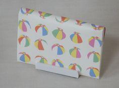 紙のカードケース「紙風船」