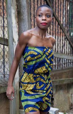 Liberian-born seamstress & fashion designer Abiosé  Massaquoi    #AbioséCollection  #HauteSocialiteofLiberia