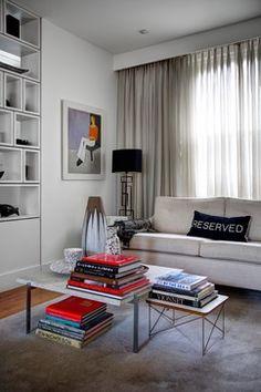 Ben De Lisi's SW11 Loft conversion - contemporary - Living Room - London - Landmark Group