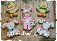 Easter time cookie set by Sweet Day by Guada (Guadalupe Garmilla)