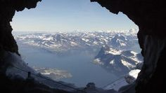 Mt. Pilatus, Lucerne, Switzerland. Find the cave tunnel while you're there!
