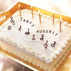 buon compleanno in musica