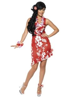 Hawaiian dress - Party Superstores