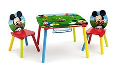 Kids' Folding Chairs - Disney Mickey Mouse Storage Table and Chairs Set by Delta Children ** Be sure to check out this awesome product.