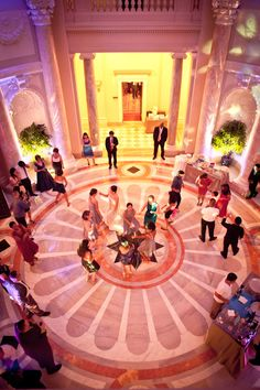 Carnegie Institute for Science Wedding Reception in Washington DC 275x412 Washington DC Wedding Reception: Amy + John