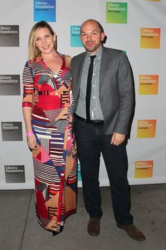 Pin for Later: Comedy Power Couples: 15 Pairs Whose Love Is Hilariously Sweet June Diane Raphael and Paul Scheer