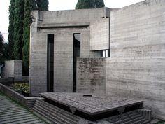 Tomba Brion Cemetery. 1969-78. San Vito d'Altivole, Italy. Carlo Scarpa