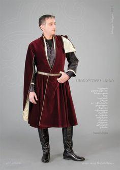 Basileios.    Noble's Robe, by Samoseli Pirveli.