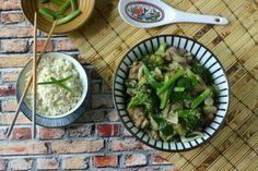 {Paleo} Chicken Stir Fry with Broccoli   Cabbage