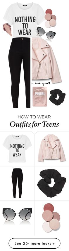 """""""Pink"""" by tessilou14 on Polyvore featuring Fendi, Rituel de Fille, Forever 21, Lapcos and LunatiCK Cosmetic Labs"""