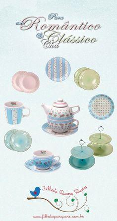 Chá com estilo e charme.