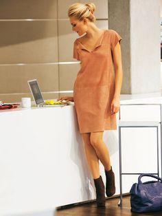 Burda Patterns-02/2011 Leather dress #117