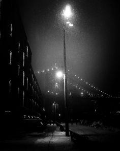To All a Good Night #nyc #brooklynbridge Black and White Photography adamwhittaker.com