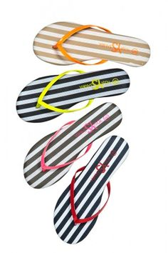 Yosi Samra Flip Flops Four hot hues made just for us! Shop it! Cute Shoes, Me Too Shoes, Yosi Samra, Flip Flop Shoes, Summer Essentials, Beach Sandals, Shoe Closet, Summer Of Love, Shoes