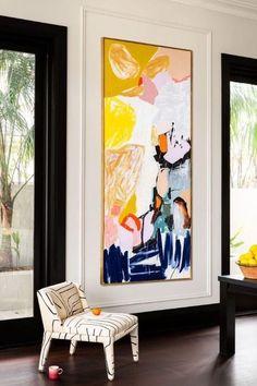 the Carmen MKII chair upholstered in Graffito by Kelly Wearstler. - the Carmen MKII chair upholstered in Graffito by Kelly Wearstler. Painting Inspiration, Art Inspo, Room Inspiration, Arte Pop, Diy Art, Home Art, Art Photography, Canvas Art, Canvas Paintings
