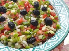 Moroccan Salad with Olives