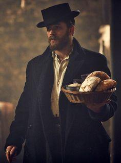 Tom Hardy in Peaky Blinders season 2 ... Oh, Tommy, you make everything look good