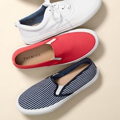Talbots Papaya Fruit Sneakers Brand new in box. Never worn. Coral/papaya color Talbots Shoes Flats & Loafers