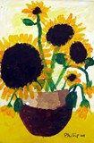 Artsonia Art Exhibit :: Second Grade Sunflowers