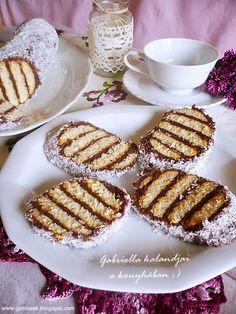 Gabriella kalandjai a konyhában :) Ital Food, Waffles, Biscuits, French Toast, Food And Drink, Healthy Recipes, Healthy Food, Sweets, Dishes