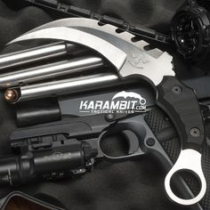 Shop at Karambit.com for the highest quality fixed and folding custom karambits for law enforcement, military, and civilian self-defense.